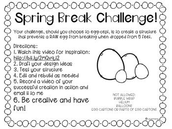 Spring STEM Challenge Bundle