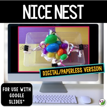 Spring STEM Challenge: Nice Nest Paperless Version