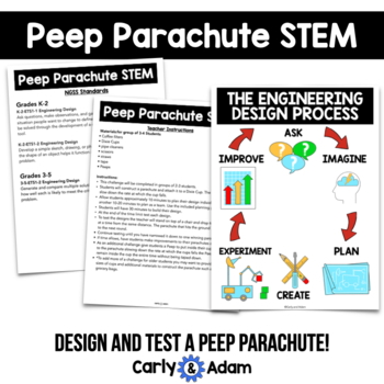 Spring STEM Challenge: Parachute - NGSS Aligned