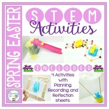 Spring STEM Engineering Challenges for April