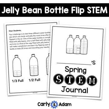 Spring STEM: Jelly Bean Bottle Flipping