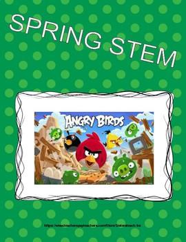 Spring STEM Lesson (K-2) - Angry Bird