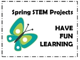 Spring STEM Projects - Science, Easter, Math, Stations, Centers
