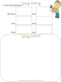 Spring *Sample* Freebie!  K-1