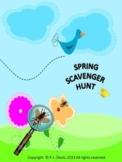 Spring Scavenger Hunt Activity