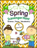 Spring Scavenger Hunt -- An Activity
