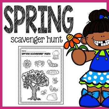 FREE Spring Scavenger Hunt