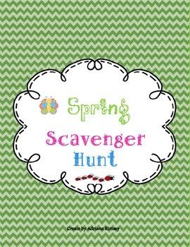 Spring Scavenger Hunt - FREEBIE