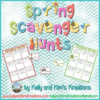 Spring Scavenger Hunts