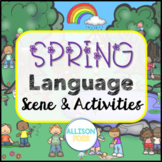 Spring Language Scene Speech Therapy