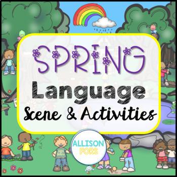 Spring Language Scene Speech Therapy