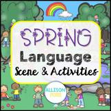 Spring Speech Therapy Language Scene