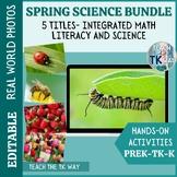Spring Science Activities For Preschool, TK, Kinder