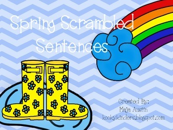 Spring Scrambled Sentences