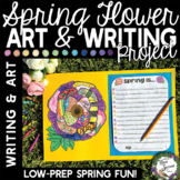 Spring Season Descriptive Writing and Art Project
