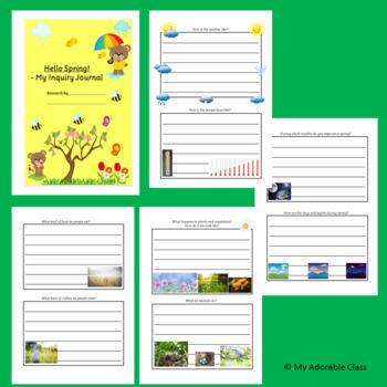 Spring Season - Worksheets - Inquiry Journal
