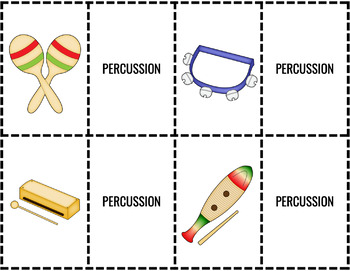 Spring Season of Musical Matching Games