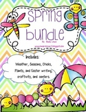 Spring :  Seasons, Weather, Chicks, and Easter bundle!