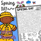Spring - Seasons Word Search Activity