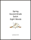 Spring Second Grade Dolch Sight Words eBook