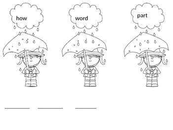 Spring Second Grade Sight Words