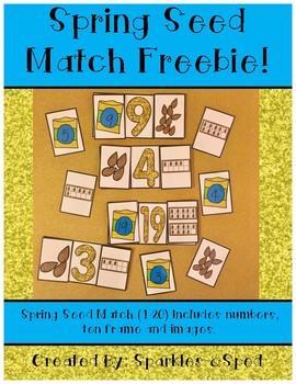 Spring Seed Match Freebie