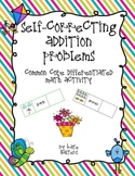 Spring Self-Correcting Addition Center {Differentiated and Common Core Aligned}