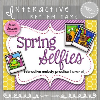 Spring Selfies La So Mi Re Do {Interactive Melody Game}