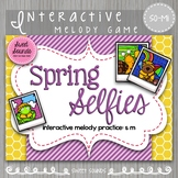 Spring Selfies So-Mi {Interactive Melody Game}