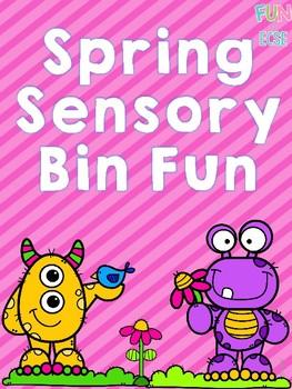 Spring Sensory Bin for Pre-K and Kindergarten