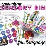 Sensory Bin for Speech Therapy: Springtime