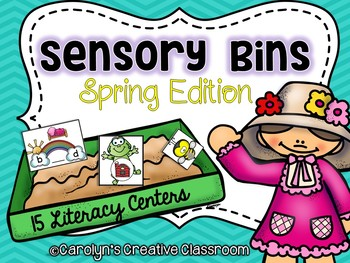 Spring Sensory Bins (April and May)