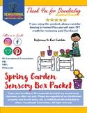Spring Sensory Box Packet