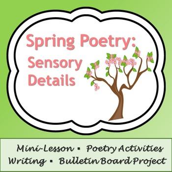 Spring Poetry: Sensory Details