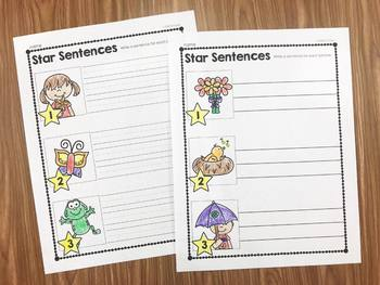 Spring Sentence Activities