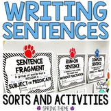 Spring Sentence Activity Pack