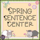 Free Spring Sentence Center