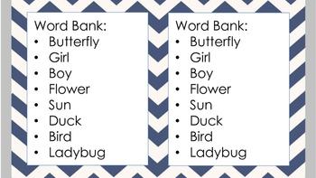Spring Sentence Frames