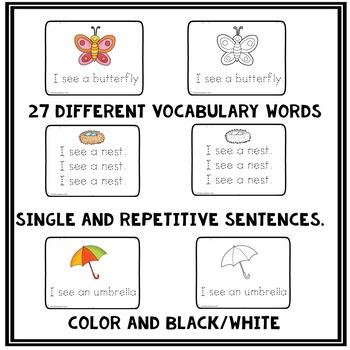 Spring Sentence Handwriting Worksheets