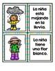 Spring Sentence Matching Center in Spanish (Centros de emparejar oraciones fotos