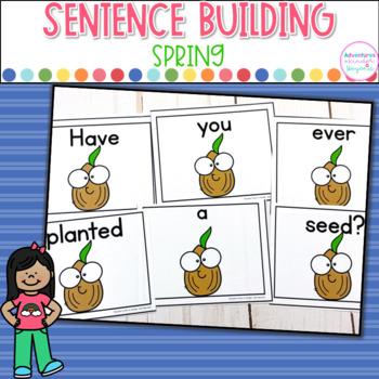 Spring Sentence Scrambles