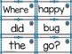 Sentence Scrambles: Spring Kinder Writing Center