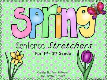Spring Sentence Stretchers- A Writing Center