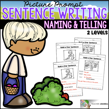Spring Sentence Structure - Naming and Telling Parts of a Sentence