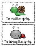 Spring Sentence Write the Room
