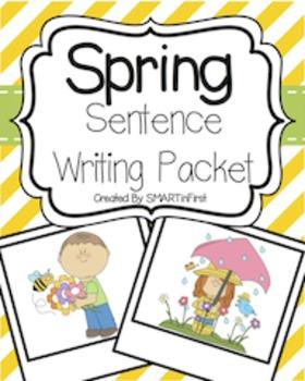 Spring Sentence Writing Freebie