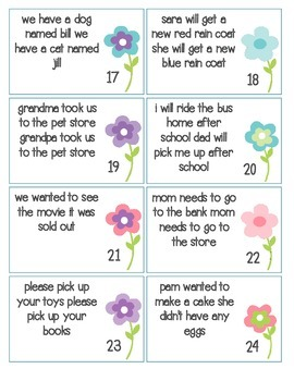 Complete, Fragment, and Run On sentences: task card sort and worksheet