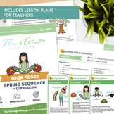 Spring Sequence Printable Yoga Cards + Lesson Plans