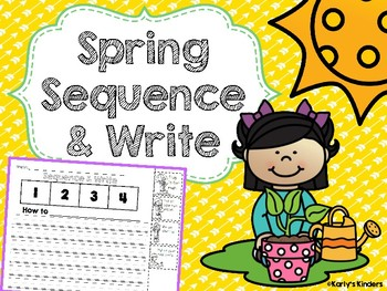 Spring Sequence & Write FREEBIE