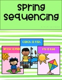 Spring Sequencing: Emergent Readers with Comprehension Checks